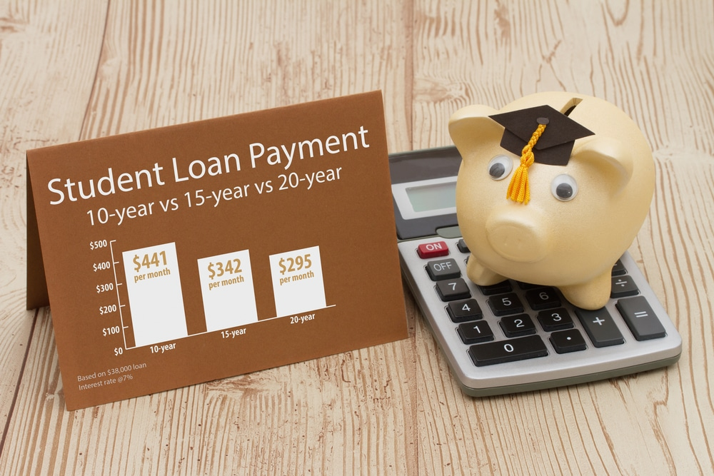 student loan payment schedule