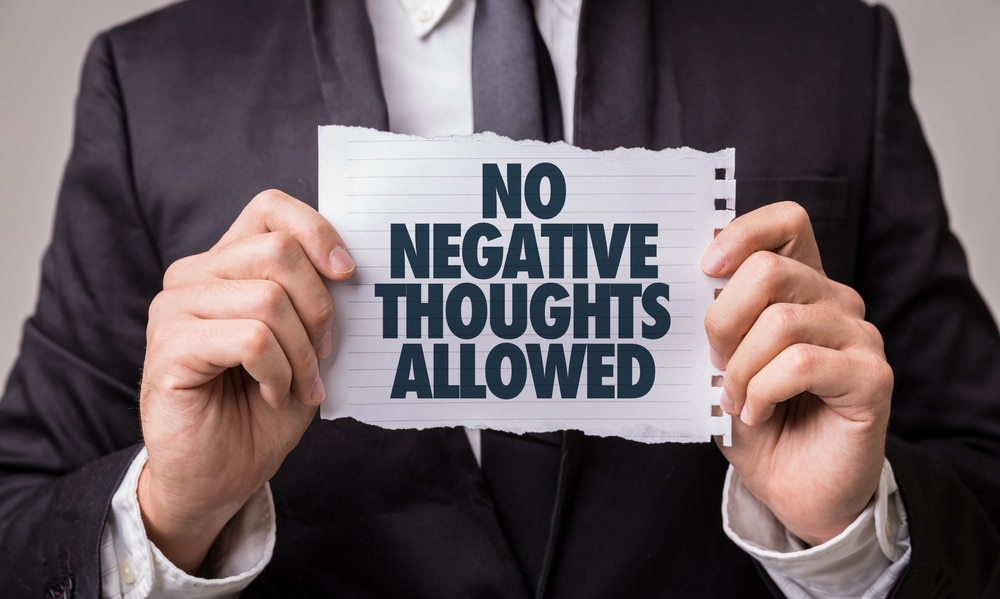 no negative thoughts